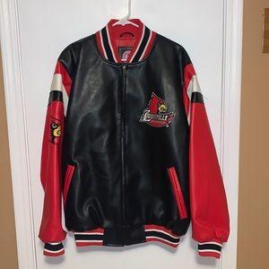 UofL Faux Leather Jacket